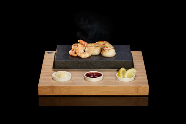 The Starter Set from SteakStones, The Home of Hot Stone Cooking